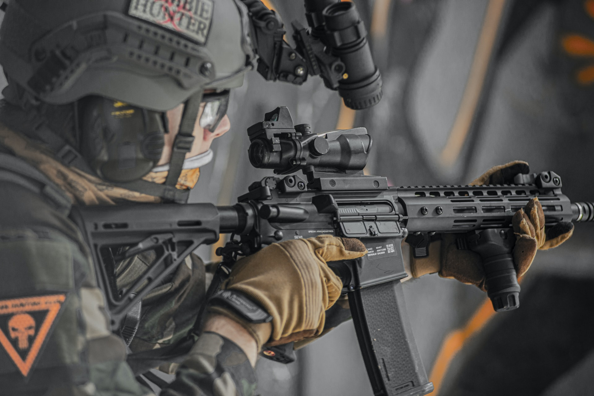The history of the airsoft in the USA